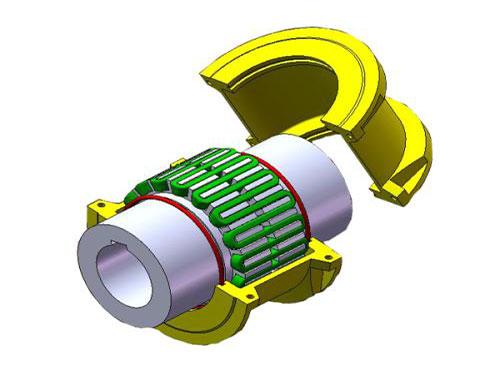 JSB型蛇形簧联轴器